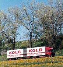 KOLB-Möbelwagen auf Achse